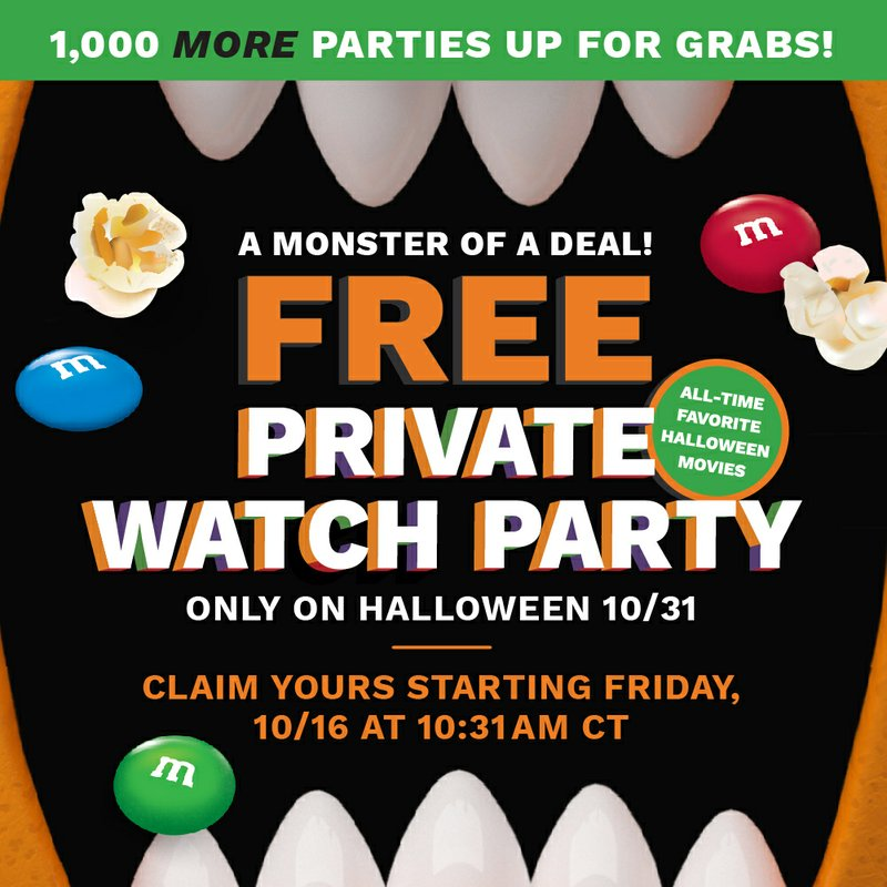 When Will Halloween 2020 Be On Demand Friday Cinemark Halloween Private Watch Parties Go Scary Fast, Will Give