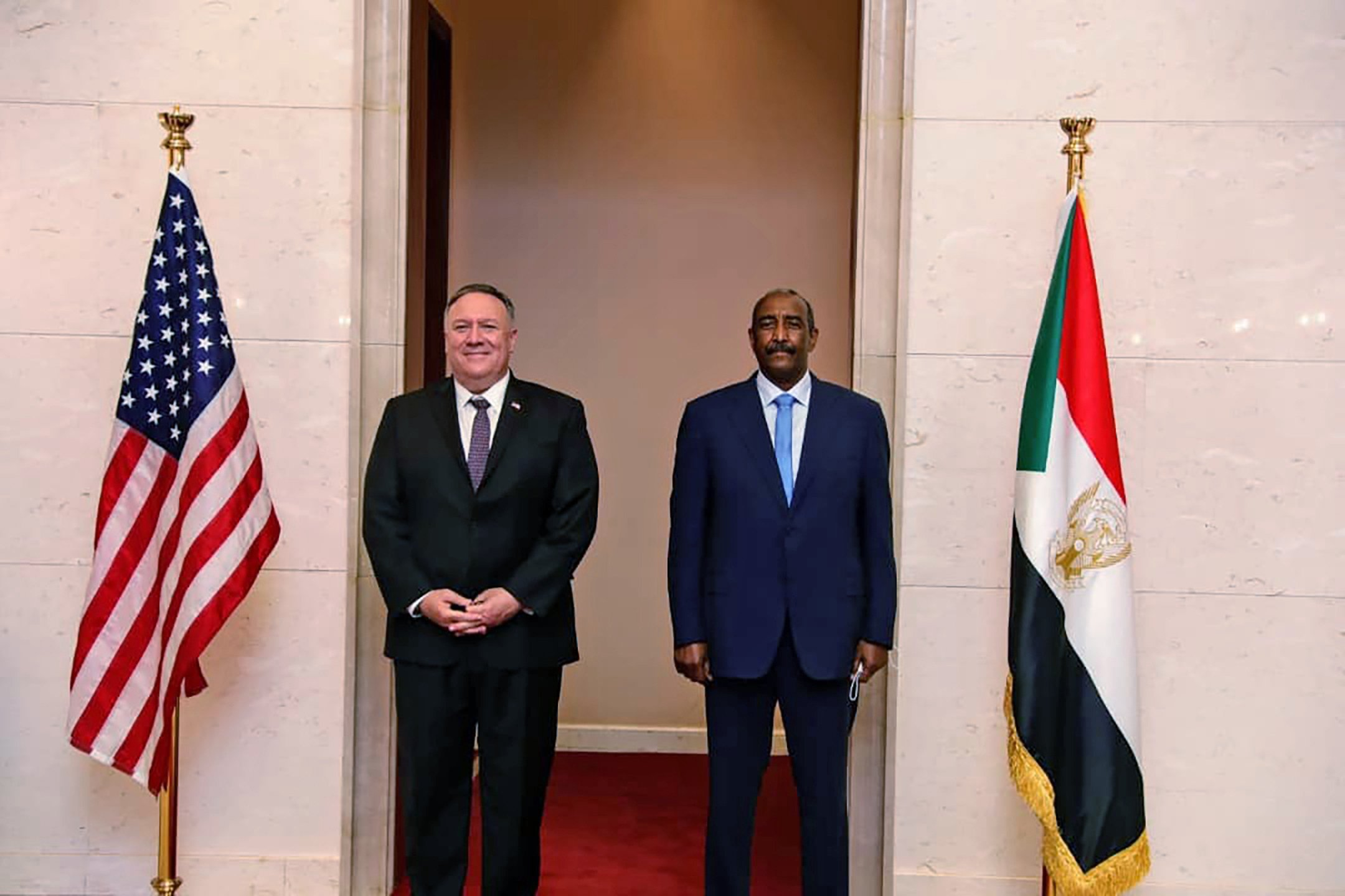 Trump says Sudan to be removed from terrorism list