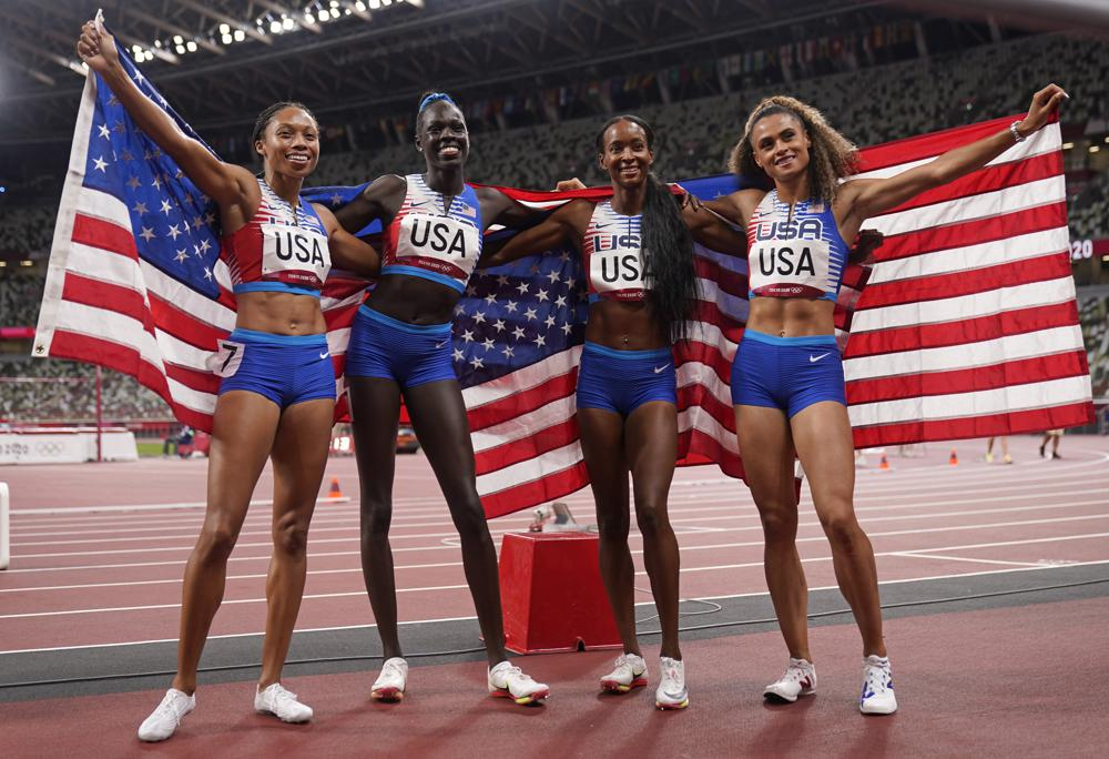 U.S. Wins Women's 4×400 Relay as Allyson Felix Becomes Most Decorated American Track Star