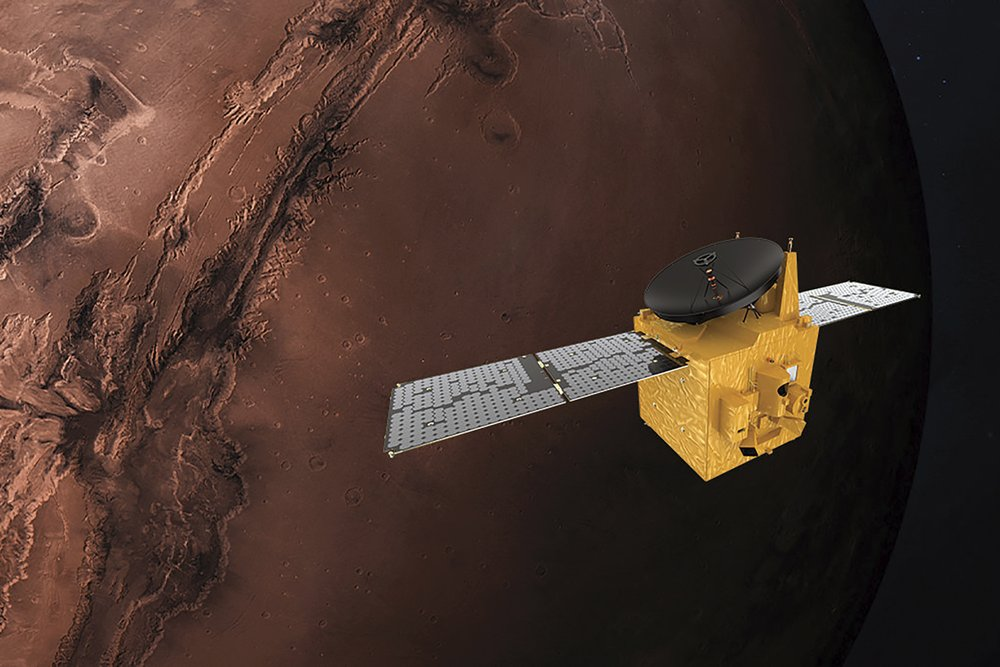 Three robotic explorers set to arrive on Mars in quick succession