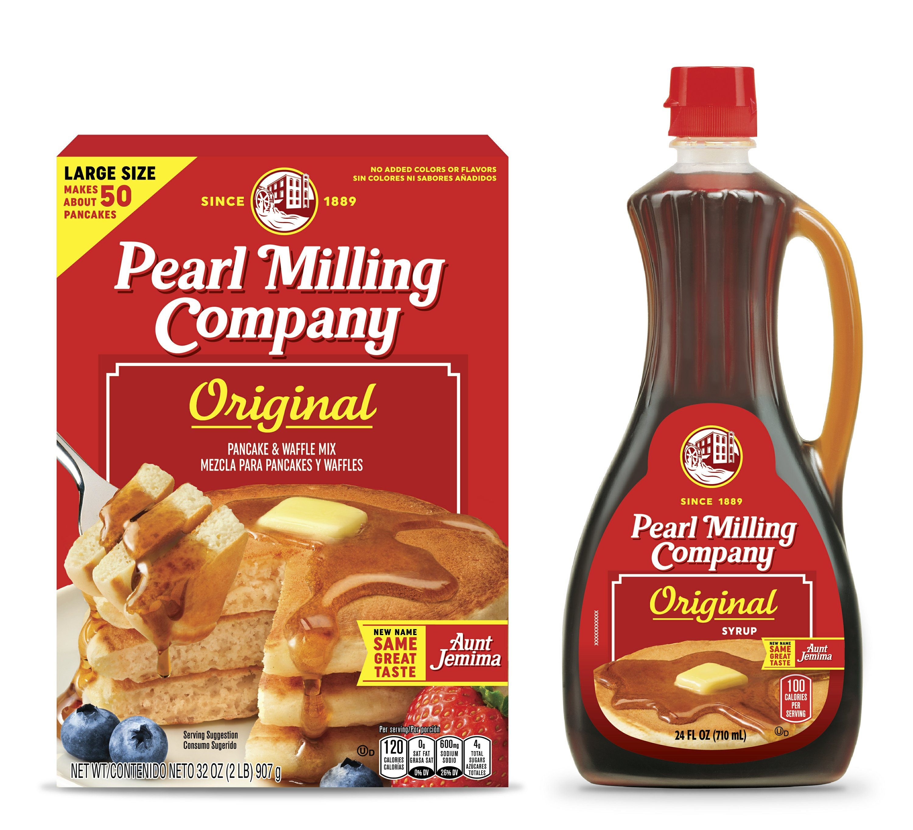 Aunt Jemima brand gets a new name: Pearl Milling Company - Associated Press