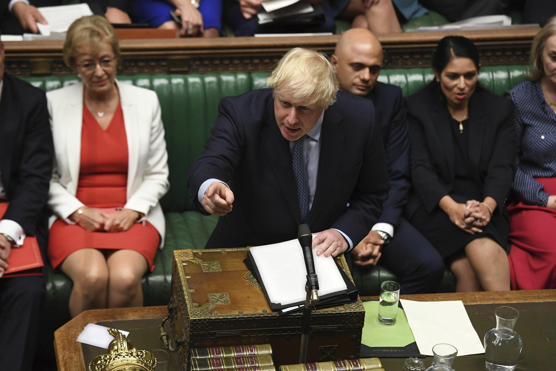 UK leader Johnson faces backlash over confrontational tone