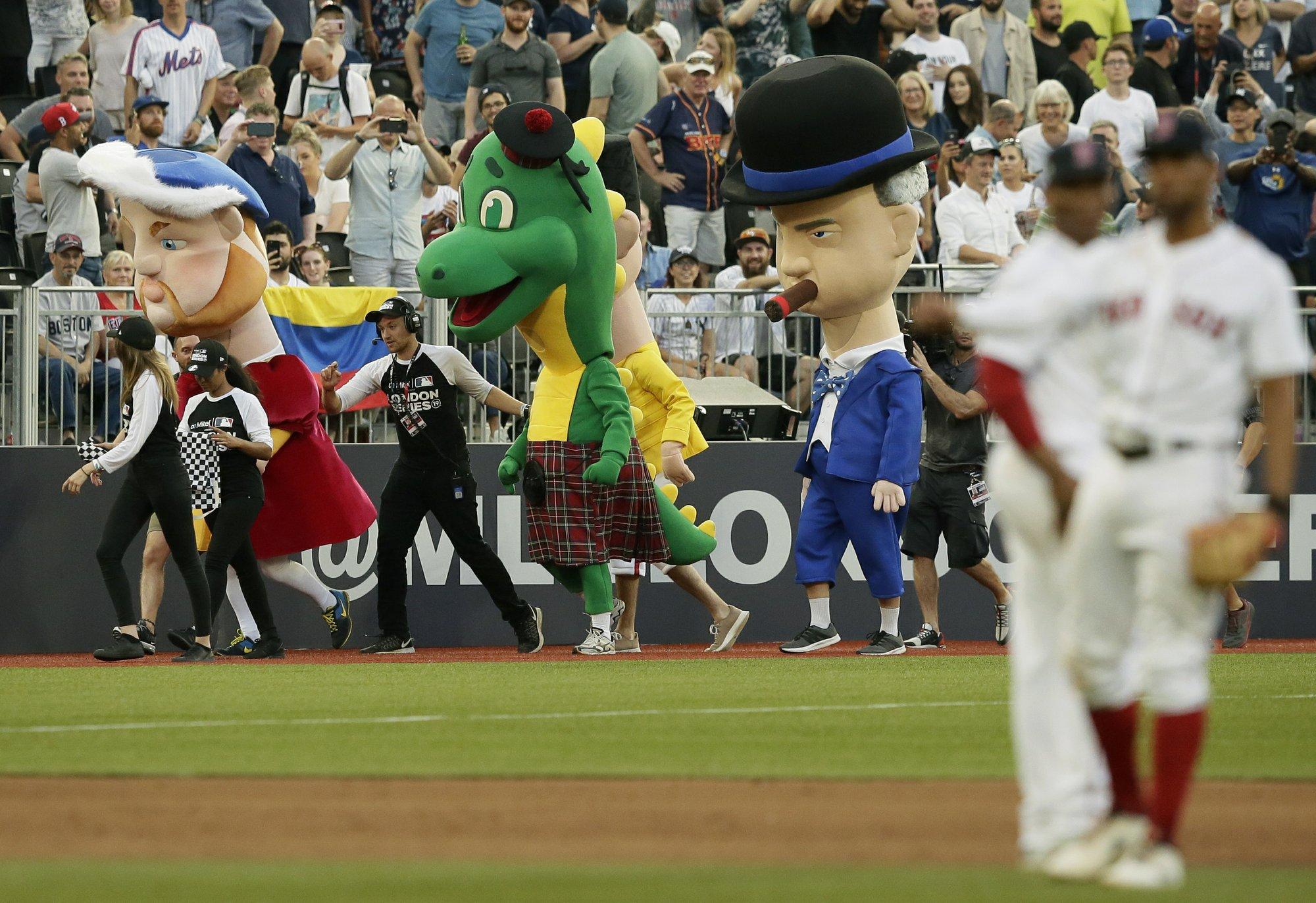 'American positivity': Baseball popular with British fans