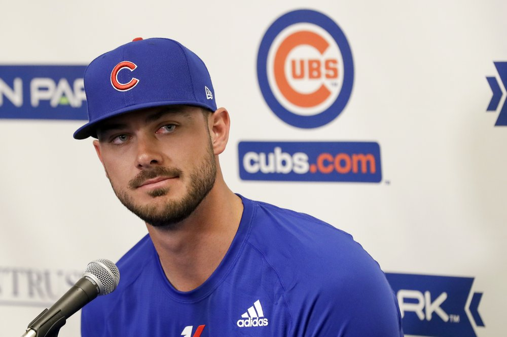 Cubs 3B Bryant: No hard feelings on losing grievance