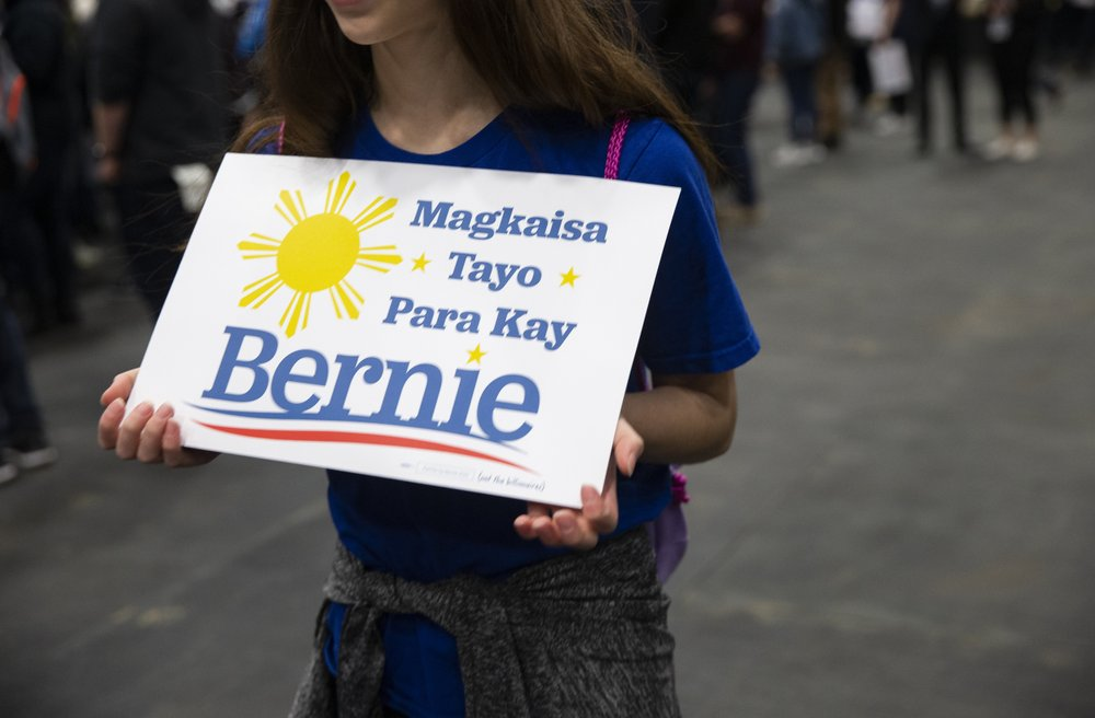 Sanders' bond with Latinos gets first test of many in Nevada