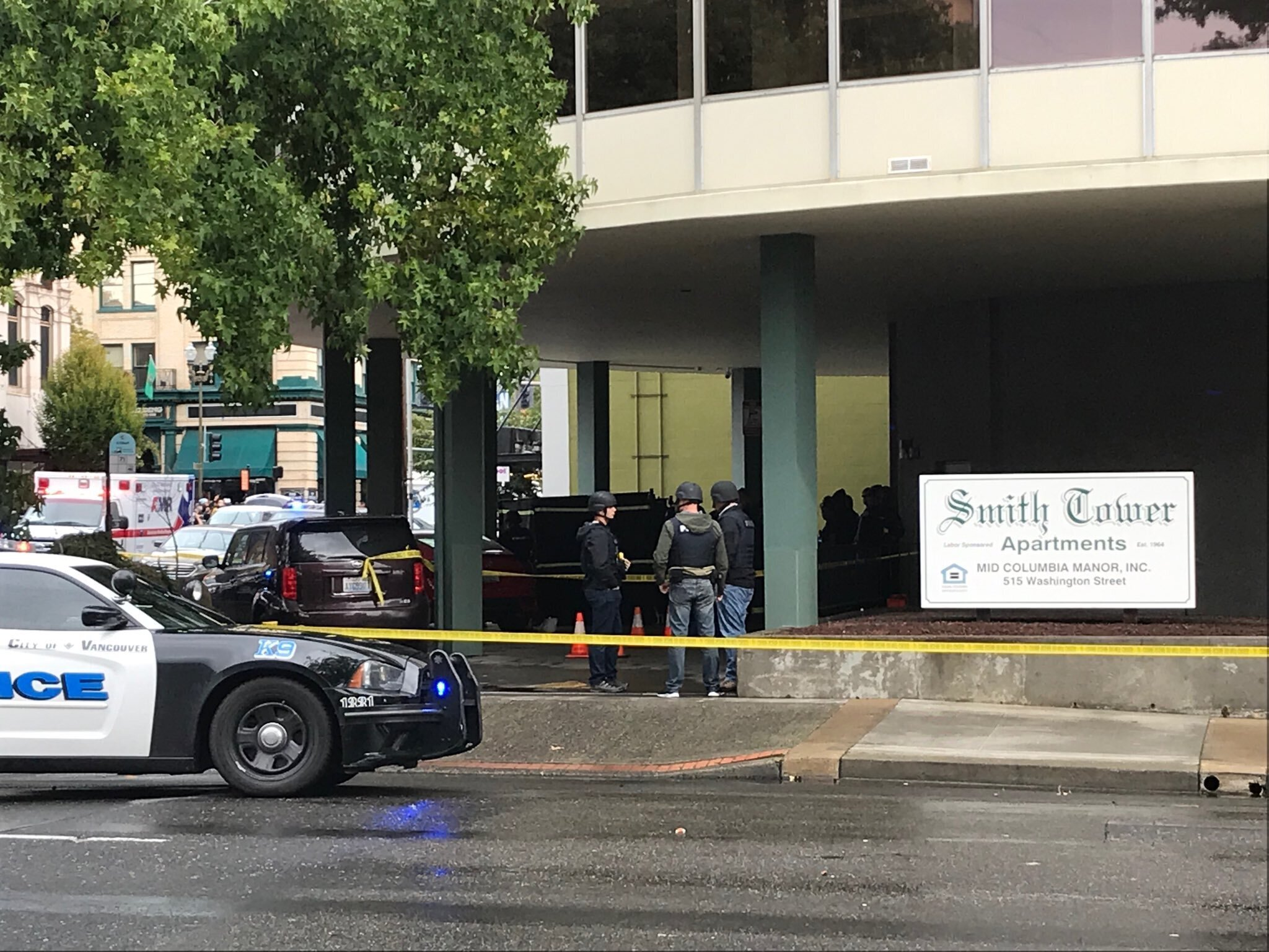 The Latest: Vancouver shooting suspect identified