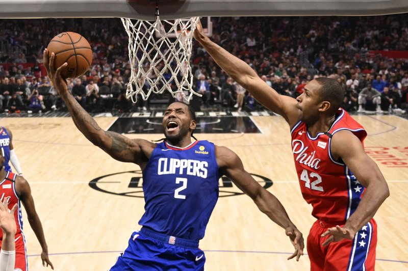 Leonard Scores 30 Clippers Beat 76ers To Win 4th Straight