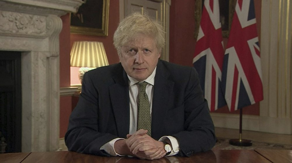 Boris Johnson orders new coronavirus lockdown for England