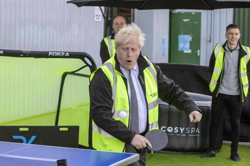 """British Prime Minister Boris Johnson denies saying he would rather see """"bodies pile high in their thousands"""" than impose a third national lockdown"""