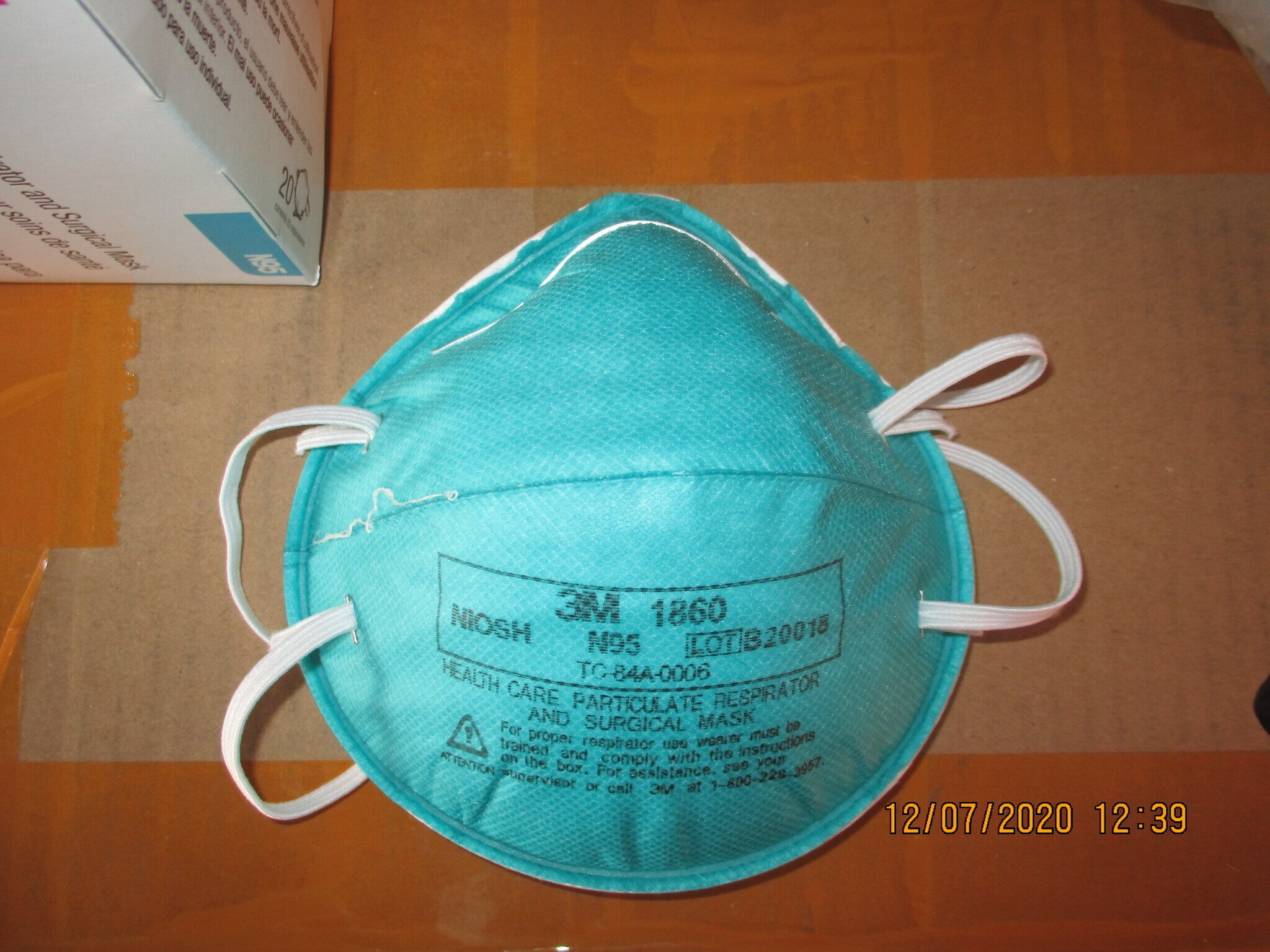 Government investigating massive counterfeit N95 mask scam