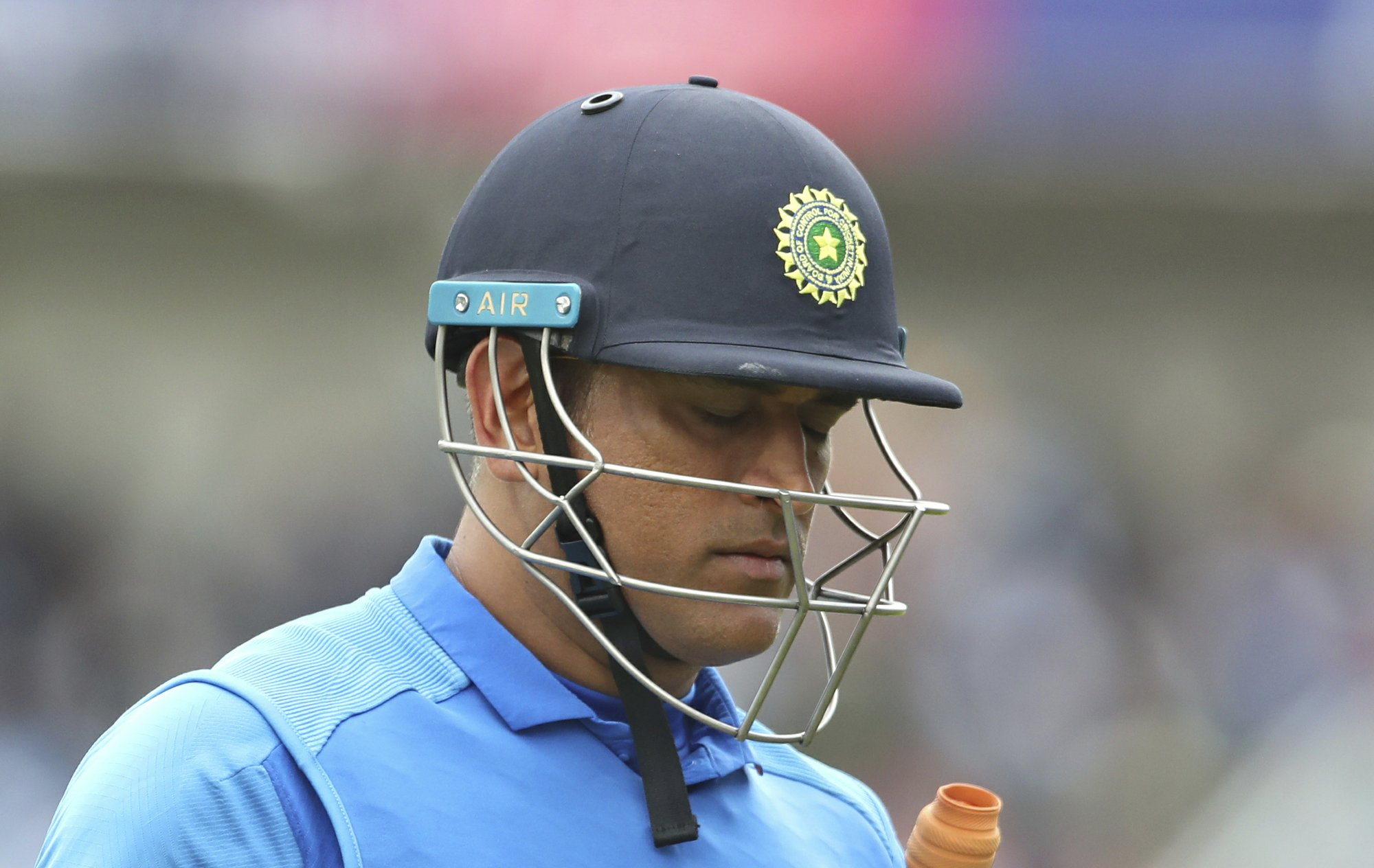Dhoni unavailable for tour of WIndies, says chief selector