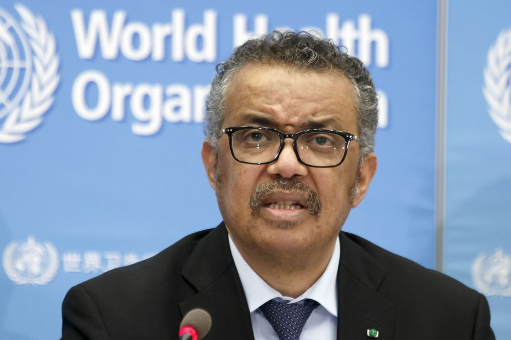 WHO Director-General Tedros Adhanom Ghebreyesus defends the organization after President Trump announced a halt to U.S. funding