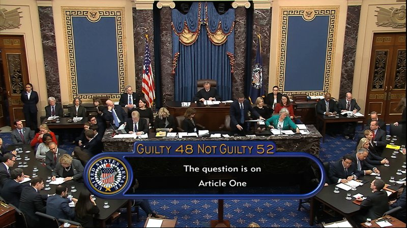 Image result for pRESIDENT NOT GUILTY