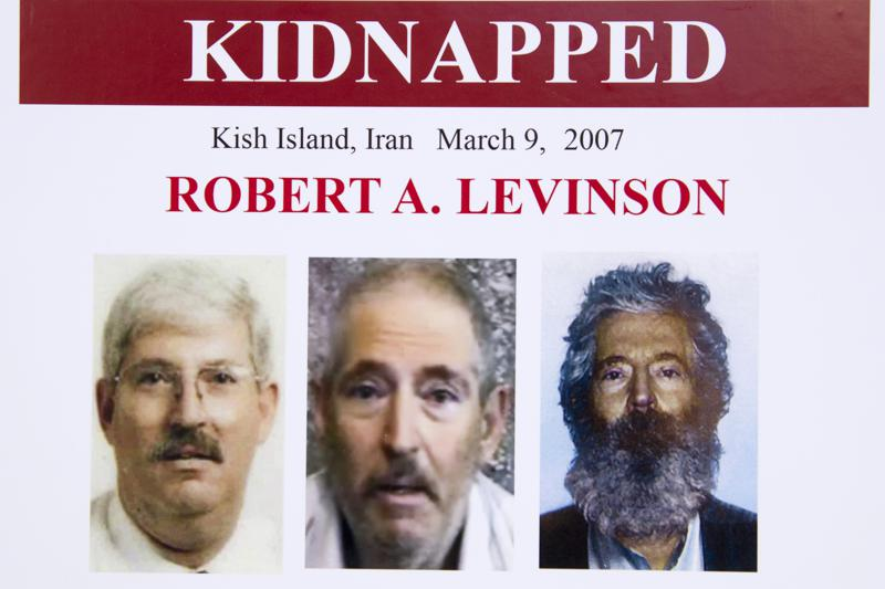 Iran held responsible for the kidnapping of former FBI agent Robert Levinson