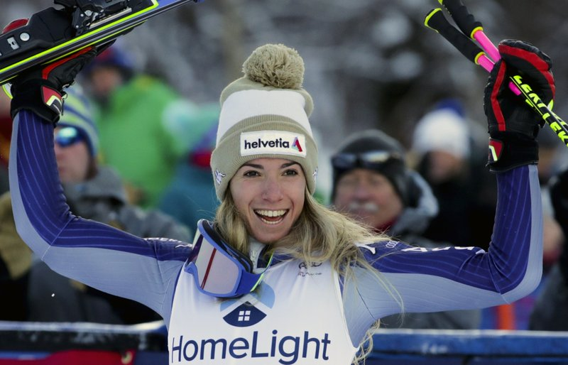Bassino Gets 1st Win In World Cup Giant Slalom Shiffrin 3rd