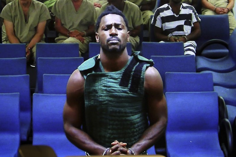 Nfl Player Antonio Brown Released On Bail By Florida Judge