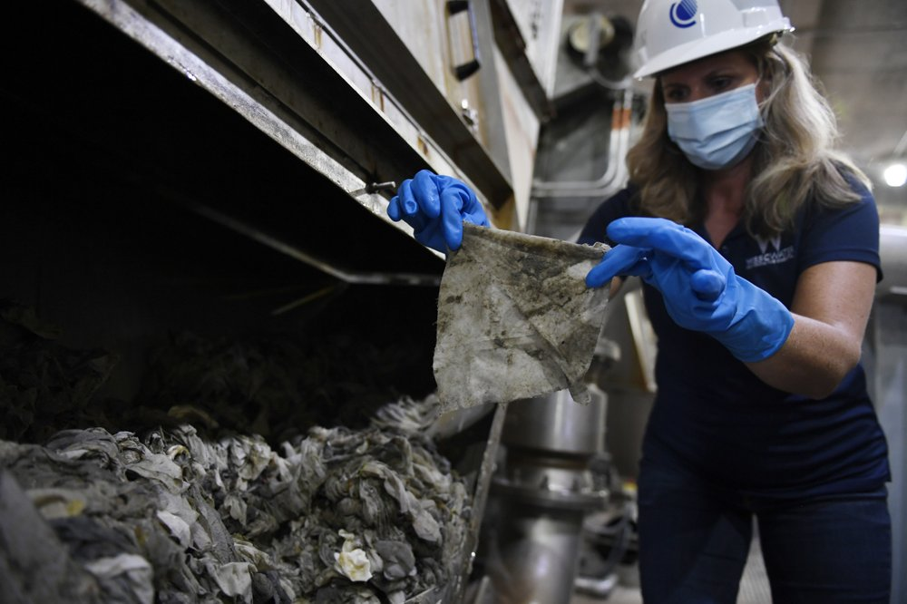 Wipes and masks plague litter sewers, storm drains in Philadelphia