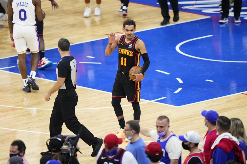 Atlanta Hawks Beat Philadelphia 76ers 103-100
