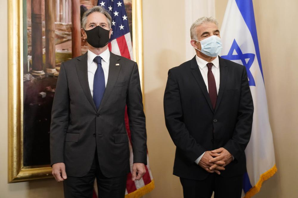 Israeli Foreign Minister Yair Lapid and U.S. Secretary of State Antony Blinken Meet in Rome Amid Reset in US-Israel Relations