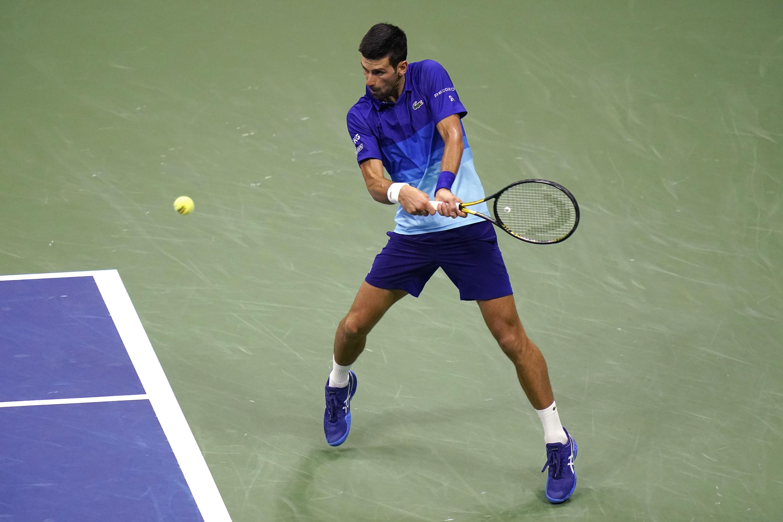 The Latest: Berrettini takes 1st set vs Djokovic at US Open - Associated Press