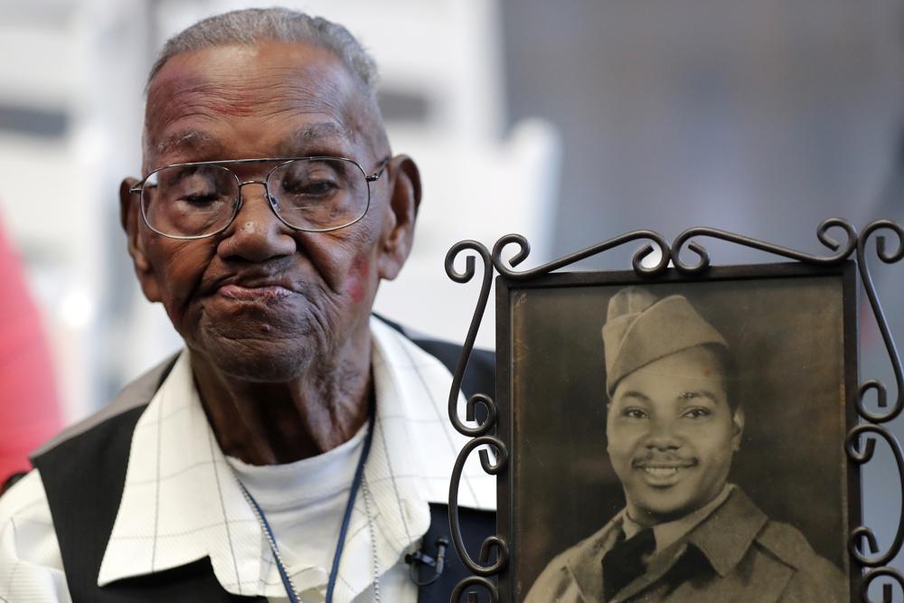 Oldest Living U.S. World War II Veteran Celebrates His 112th Birthday