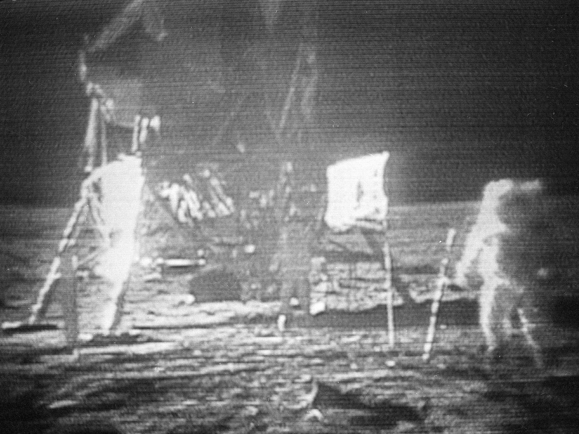 AP Was There: Man walks on the moon