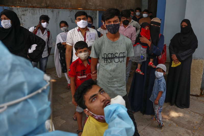 New Delhi imposed a weeklong lockdown amid explosive virus surge to prevent collapse of health system