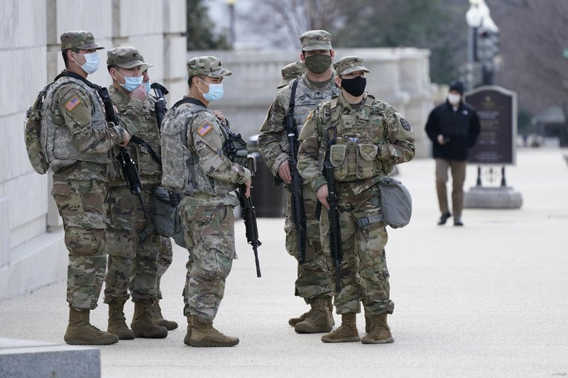 Capitol police request 60-day extension of National Guard at U.S. Capitol