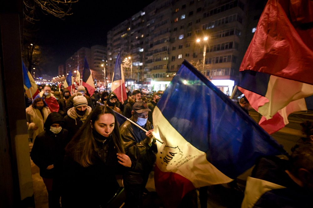 Romanian protesters call for resignations after fatal fire at hospital for COVID-19 patients
