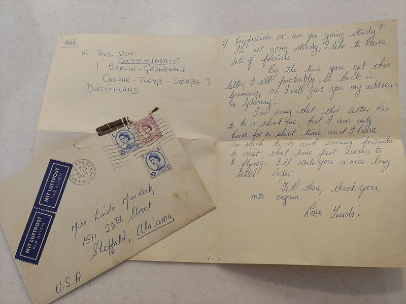 Pen pals meet again, 52 years after 1st letter