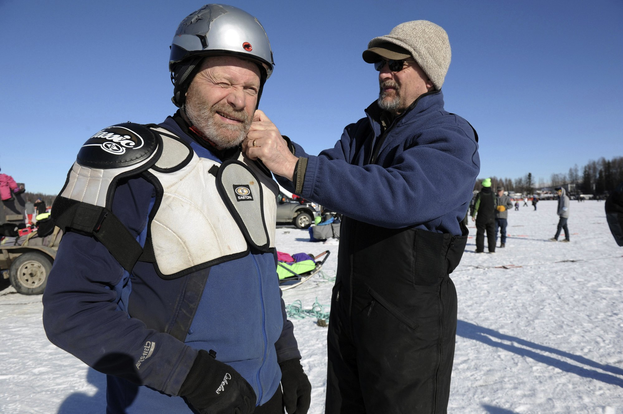 Musher denies Iditarod's concerns over his dog care