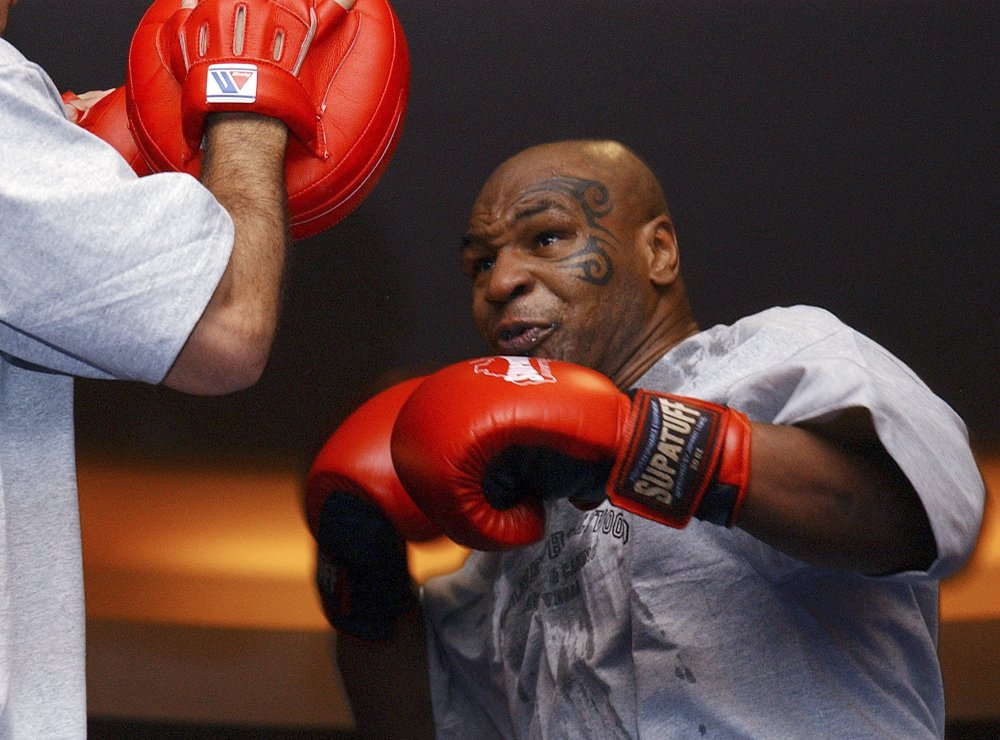At the age of 53, Mike Tyson still has the touch