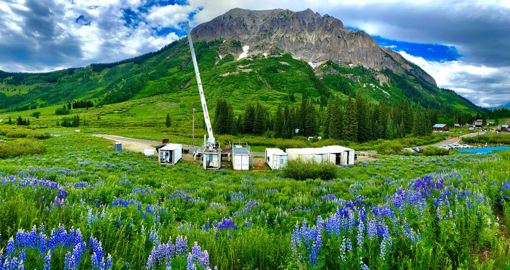 new U.S. Department of Energy, Surface Atmosphere Integrated Field Laboratory (SAIL) mobile facility in Gothic, Colorado | photo credit Lawrence Berkeley National Laboratory