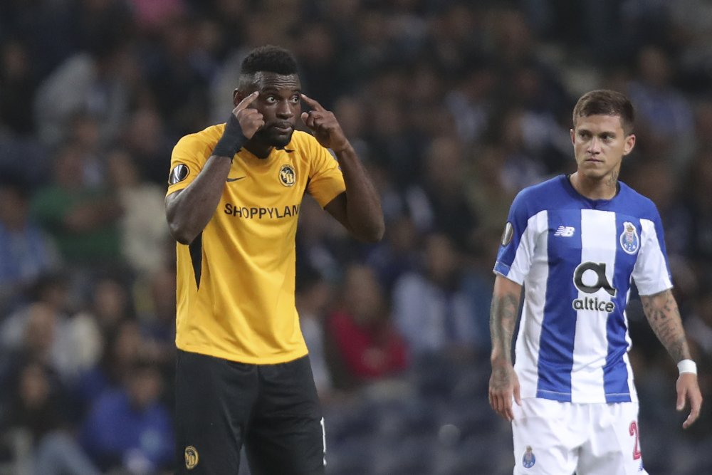 UEFA charges Porto for fans' racial abuse in Europa League