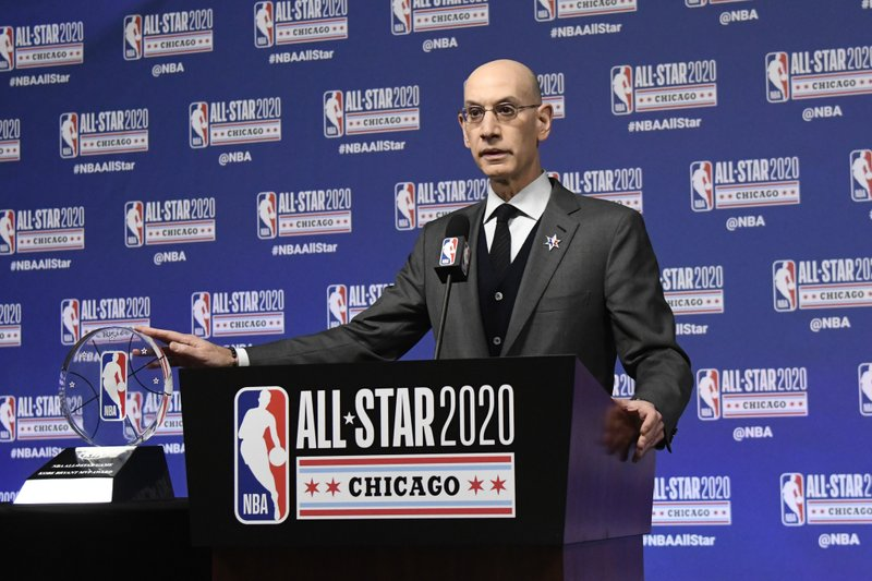 The Latest: NBA renames All-Star Game MVP award for Bryant