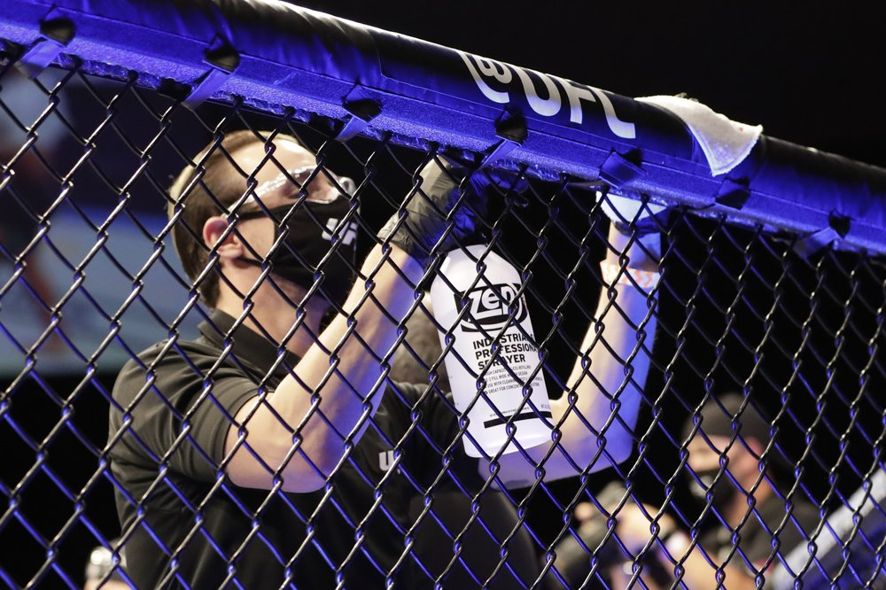 UFC's return could provide blueprint for other pro leagues