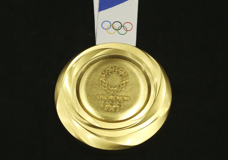 July 2020 Games With Gold.1 Year Tokyo Olympics Unveil Gold Silver Bronze Medals