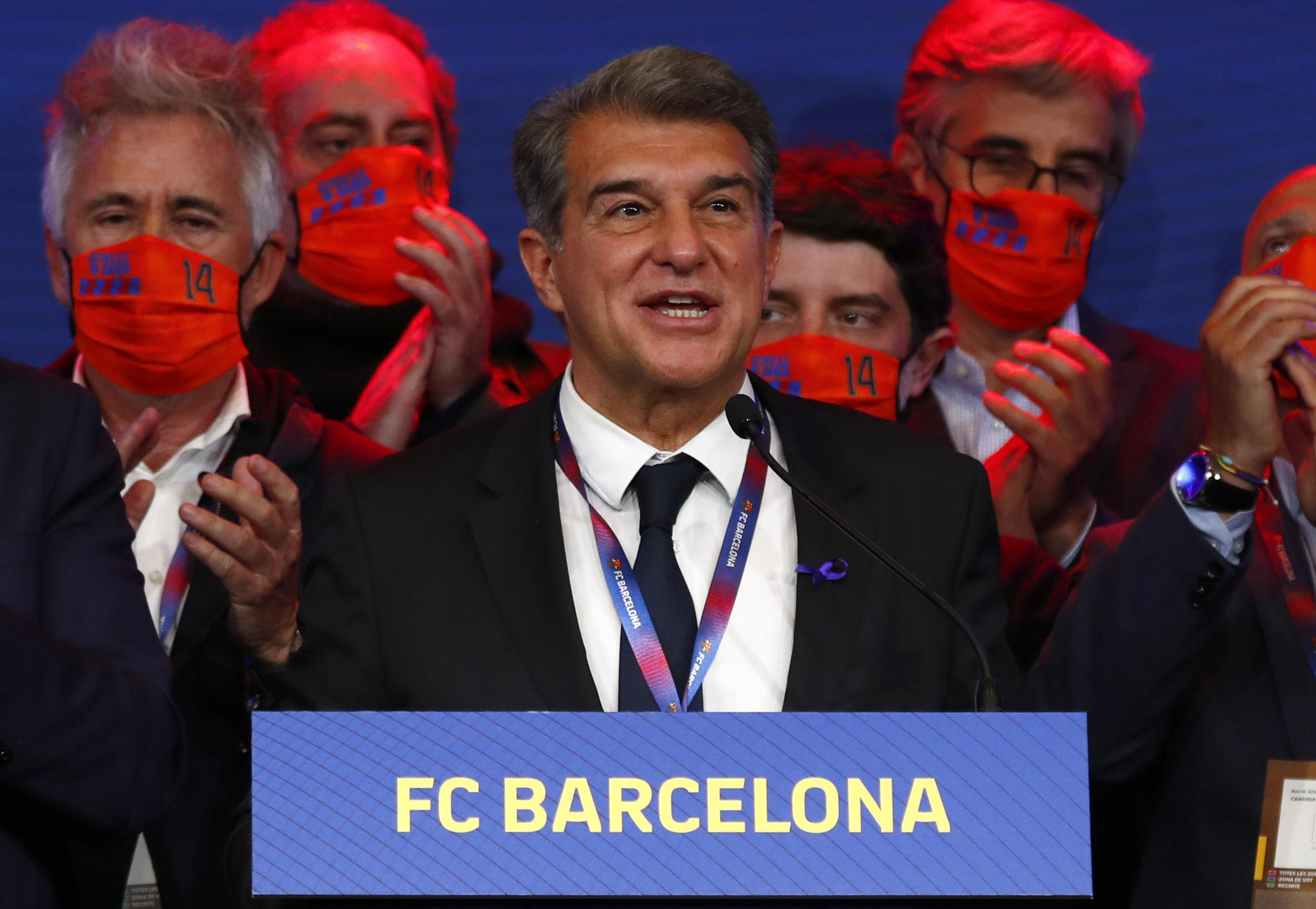 Barcelona maintains support of Super League despite backlash