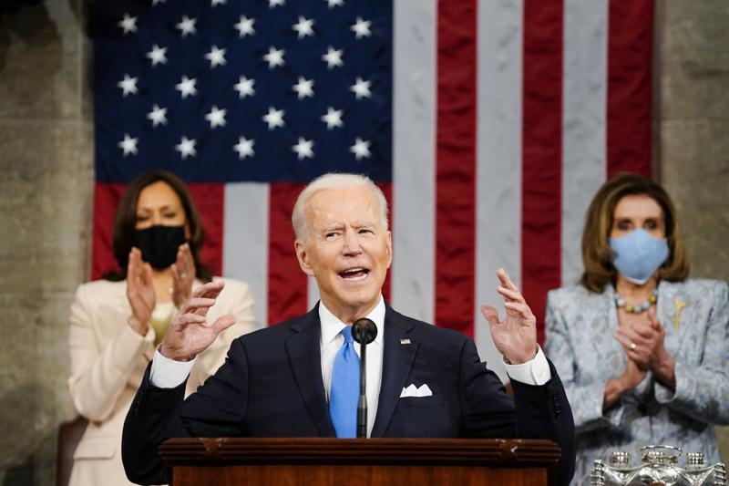 "President Biden speech represents an audacious vision and a considerable gamble; declares America's democracy ""is rising anew"""