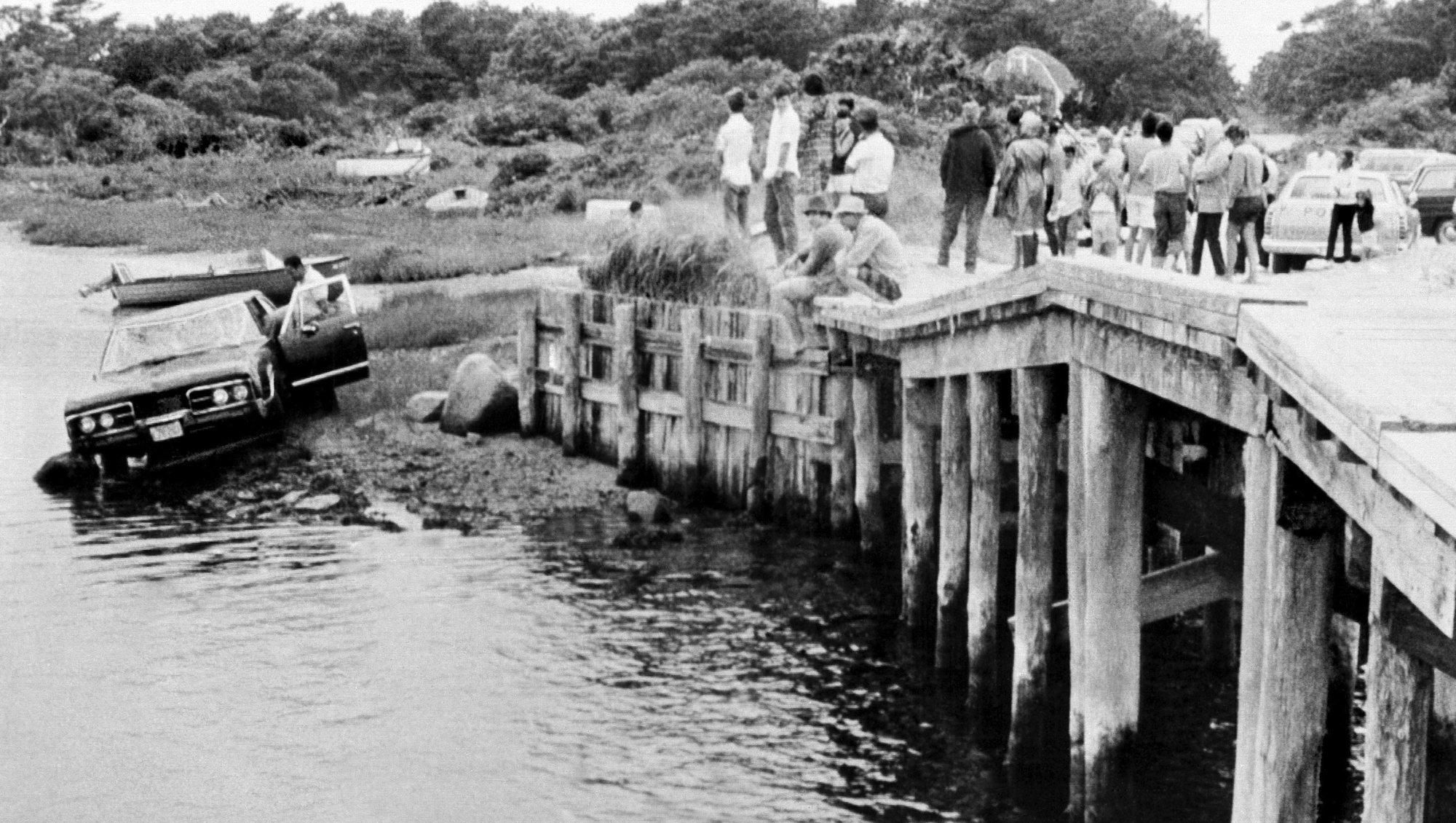 AP Was There: Sen. Kennedy's fateful crash on Chappaquiddick