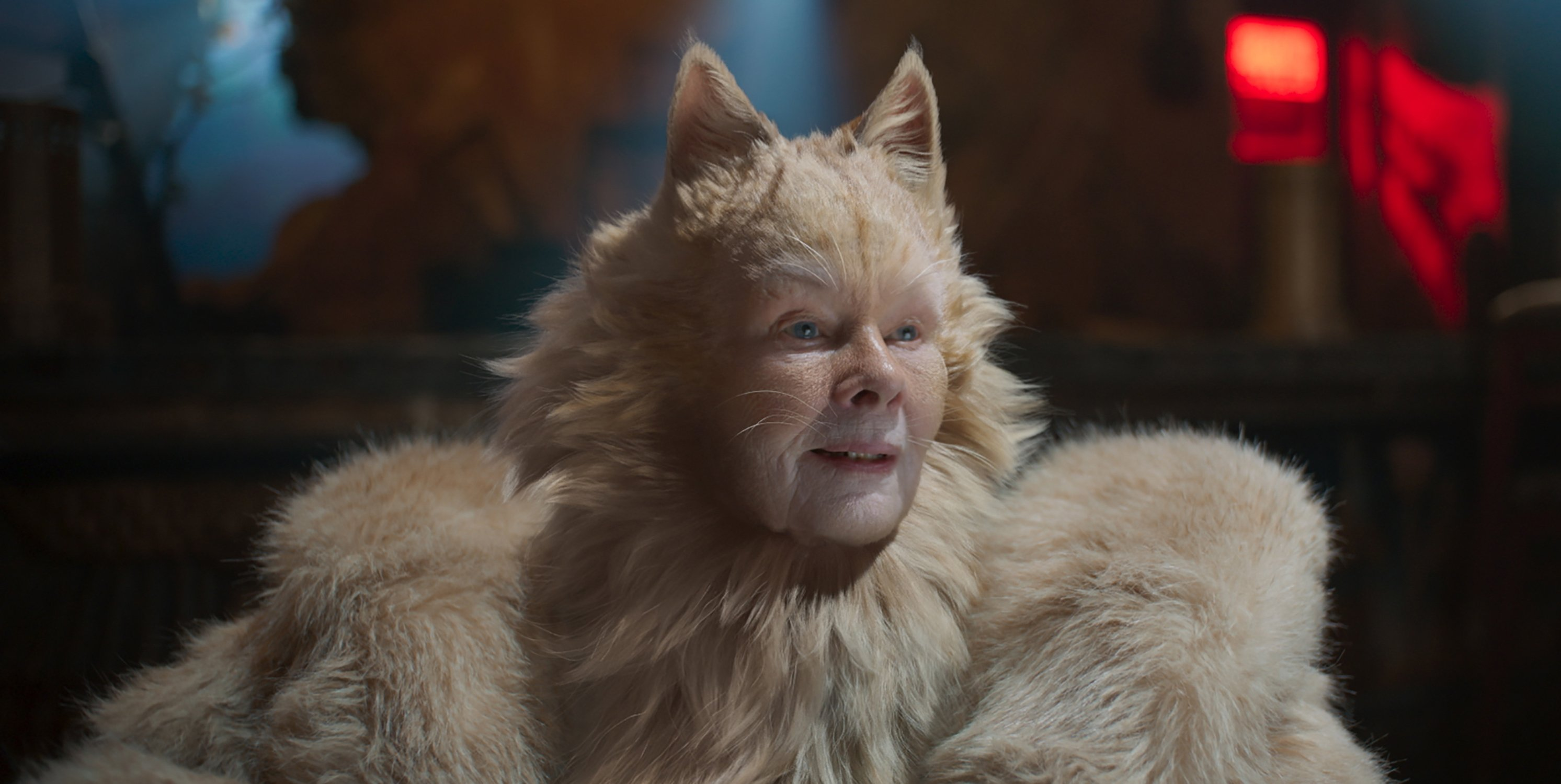 Review Forget CGI. Dench is the special effect in \u0027Cats\u0027