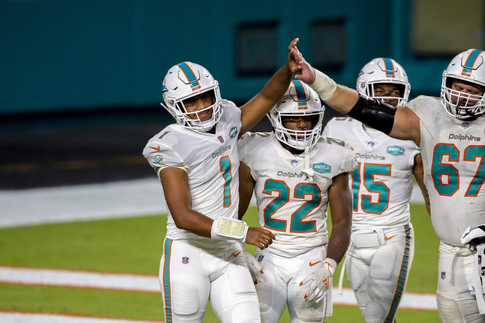 Dolphins players are excited about Tua's 1st start
