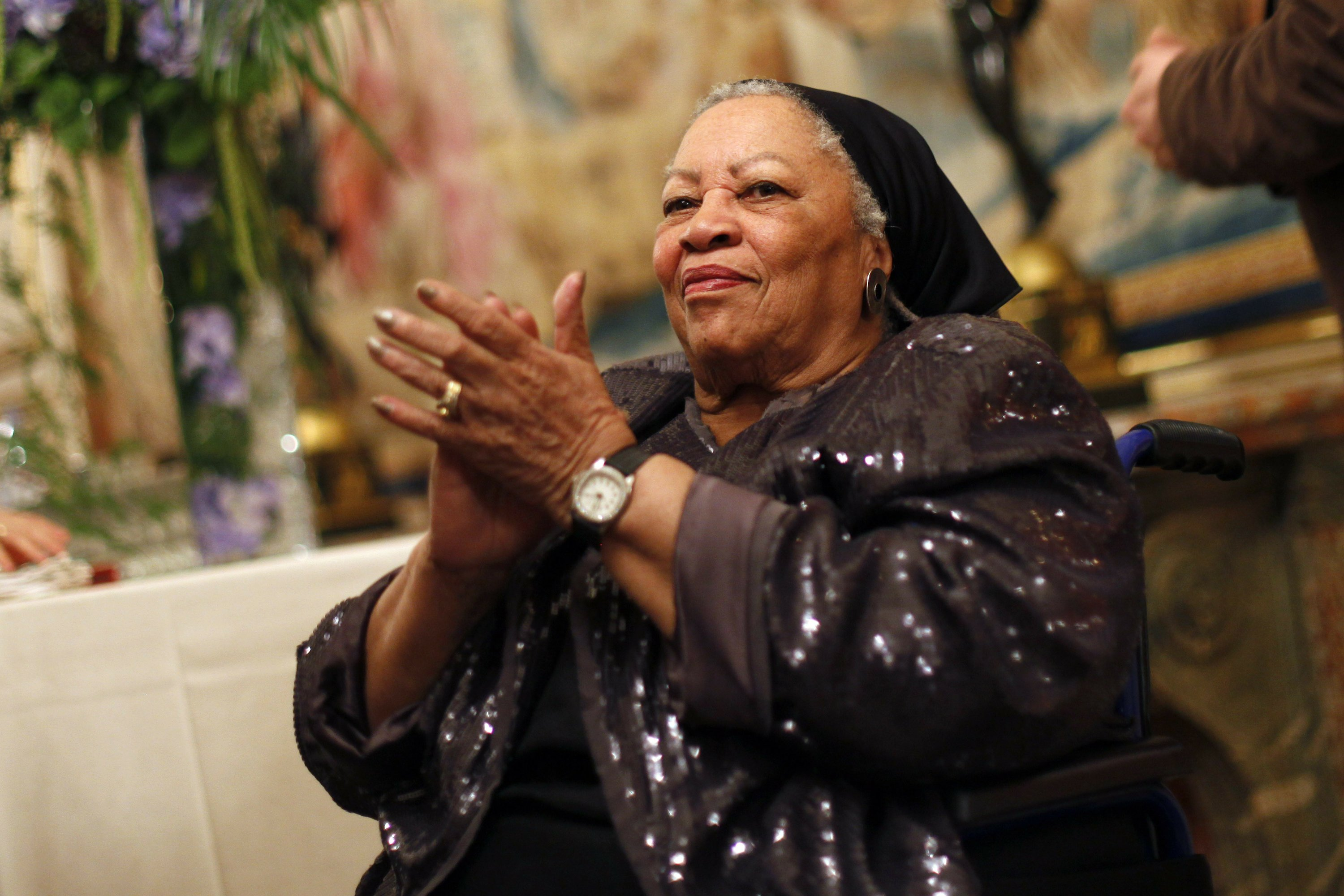Book of Toni Morrison quotations is coming out in December