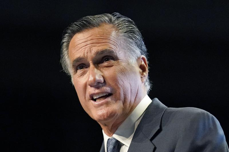 Bid to censure Romney for his votes at President Donald Trump's impeachment trials fails