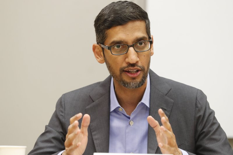 Sundar Pichai Google CEO says company will review AI researcher's abrupt exit