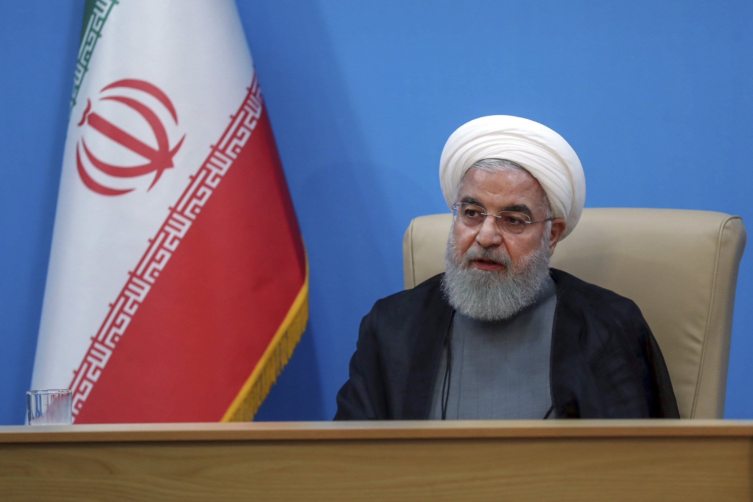 Iran says 'idiotic' new US sanctions shut doors of diplomacy