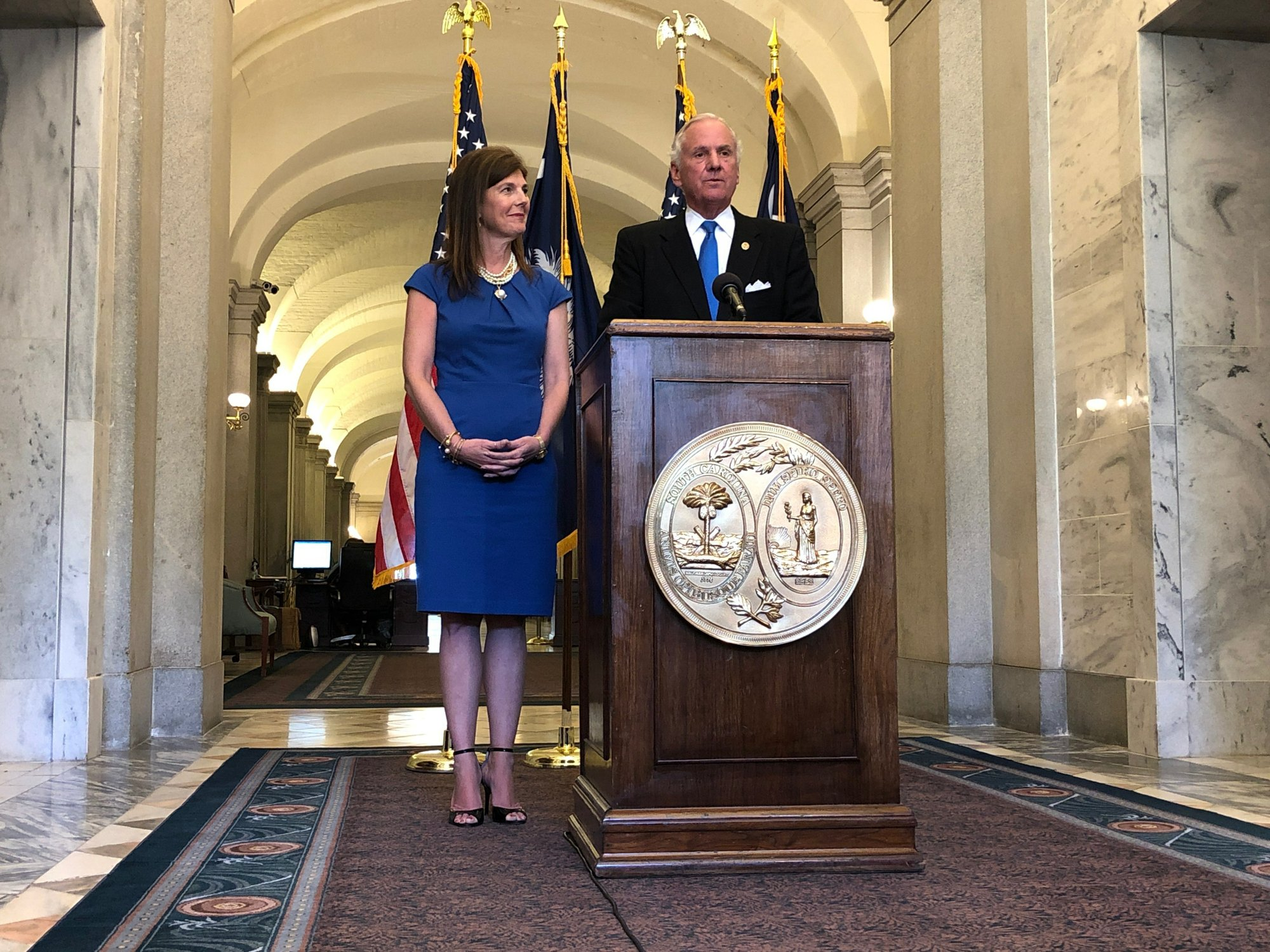 SC governor touts lawmakers cooperation in budget vetoes