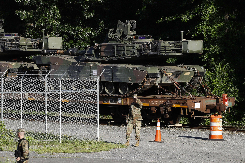 Trump promises tanks, 'biggest ever fireworks' on July 4