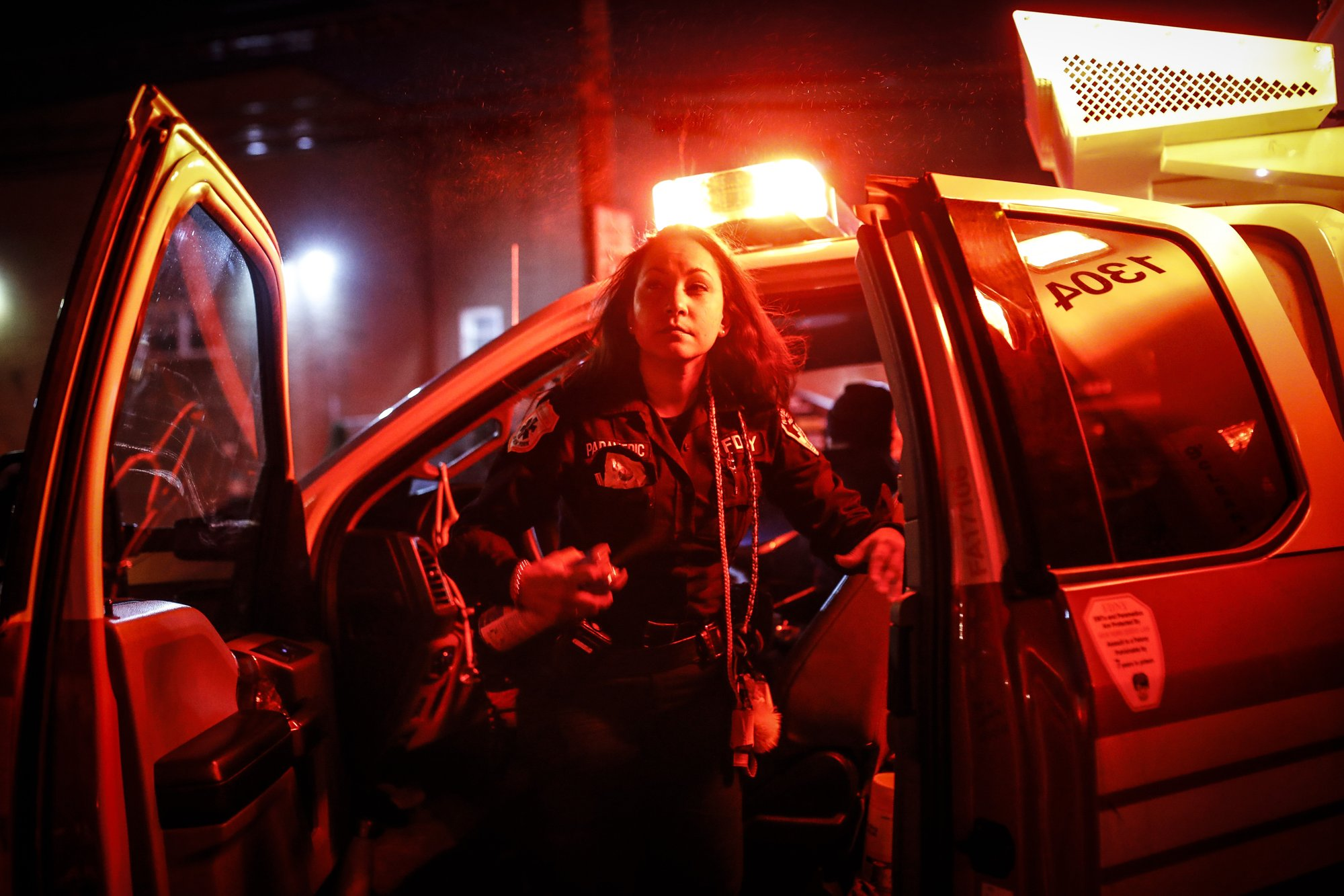 'You hear the cries': Virus toll haunts a New York paramedic