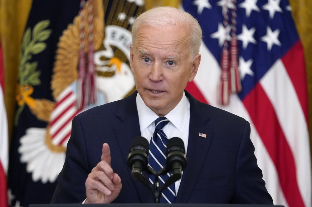 "President Biden leaves door open for Senate change to pass agenda ""if there's complete lockdown and chaos"""